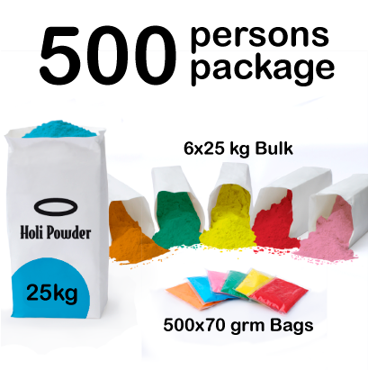 Color Run, Color Festival or Color Party holi color Packages